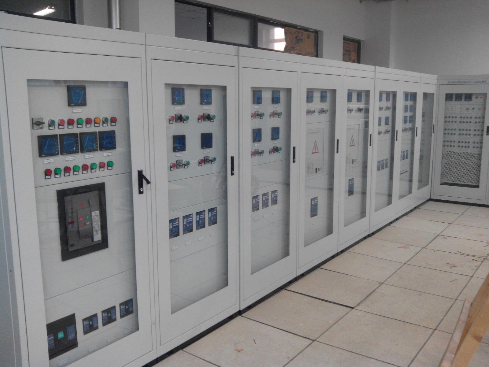 本微电网工程由20kw光伏发电系统,12kw风力发电系统,50kw储能系统